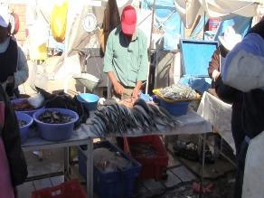 Escasez de pescado en mercados de Arequipa por oleajes