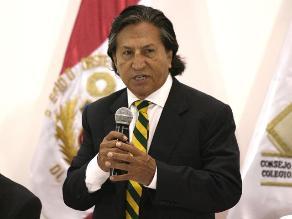 Congreso: Acuerdan citar a Toledo por reunión con Orellana en el 2009