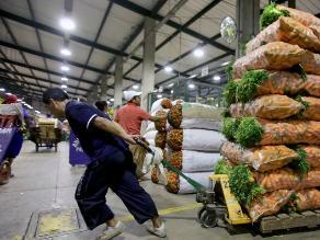 Ingreso de productos a Gran Mercado Mayorista creció en 10%