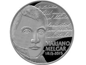 Mariano Melgar recibe homenaje en nueva moneda de un sol