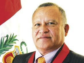 Presidente del PJ de Piura se pronuncia por caso de Luis Ángel Piscoya