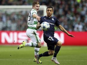 Champions League: Malmö cae 3-2 ante Celtic con Yotún de titular