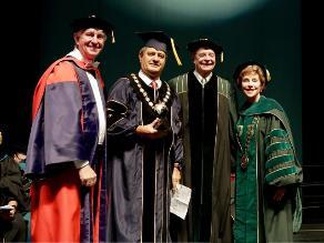 Raúl Diez Canseco fue distinguido por la University of South Florida