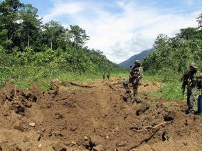 Vraem: Fuerzas Armadas inhabilitan 36 pistas de aterrizaje clandestinas