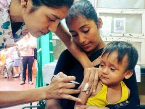 Lambayeque: envían 20 mil dosis de vacunas contra la neumonía