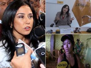 Resumen: Piden que se someta a peritaje grafotécnico a Nadine Heredia, OSCE negó pérdidas de 800 mil archivos y agredida en Piura se rehúsa a recibir apoyo del Ministerio de la Mujer