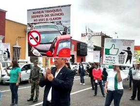 Trujillo: más de 10 mil transportistas se comprometen a no usar claxon