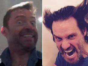 Hugh Jackman imita a 'La Máscara' y Jim Carrey responde como Wolverine