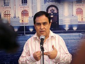 Fredy Otárola: No hubo agresión al presidente Humala ni a los congresistas
