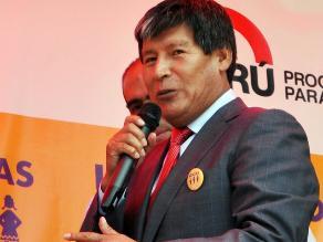 Ayacucho: prescriben caso de Oscorima por compra de tractores agrícolas