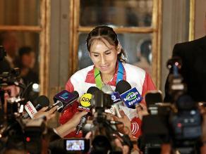Huancayo: deportistas y directivos expresan su apoyo a Gladys Tejada