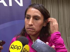 Gladys Tejeda: Le ofrecen asesoramiento legal para no perder medalla de oro