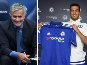 José Mourinho: Que Pedro deje Barcelona demuestra ambición