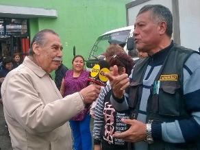 Comerciantes piden más seguridad policial en mercados de Barrios Altos