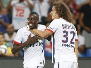 PSG, con gol de Blaise Matuidi, venció 1-0 a Montpellier y es líder en Francia