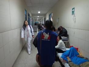 Chiclayo: Defensoría detectó hacinamiento en área de emergencia