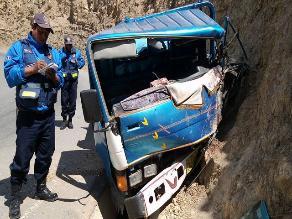 Andahuaylas: accidente de camión dejó tres heridos en vía a Ayacucho