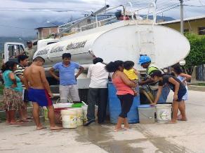 Mollendo: pobladores preocupados por falta de servicio de agua potable