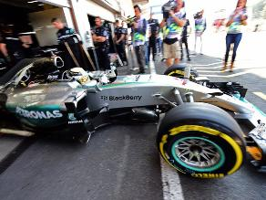 Fórmula 1: Hamilton saldrá primero en el Gran Premio de Bélgica