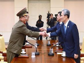 Las dos Coreas reanudarán su reunión de alto nivel para evitar un conflicto
