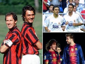 Franco Baresi - Paolo Maldini y las mejores parejas de centrales en la historia