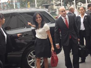 Nadine Heredia denuncia a Álvaro Gutiérrez y a exempleada