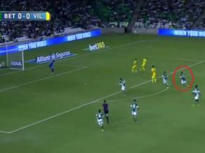 Real Betis vs. Villarreal: ¿Fue error de Juan Vargas en el gol de Soldado?
