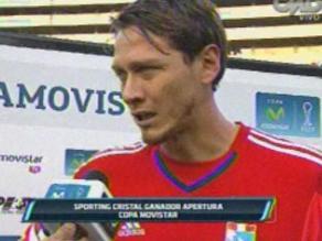 Sporting Cristal: Diego Penny no reveló el secreto del título por temor a que lo copien