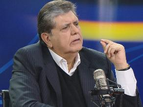 Bernales: Alan García debe admitir que los narcoindultos fue un error
