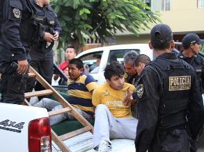 La Libertad: 77 bandas criminales desarticuladas hasta julio de este año