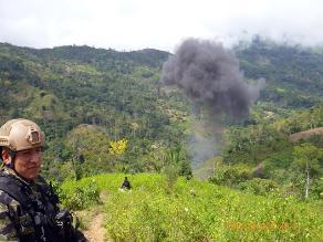 Junín: dos muertos y un militar herido deja enfrentamiento en el Vraem
