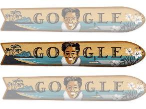 Google rinde homenaje a Duke Kahanamoku, el