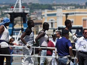 Italia: rescatan a 4.700 inmigrantes en el Mediterráneo