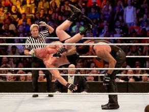 SummerSlam 2015: The Undertaker ganó a Brock Lesnar con polémica