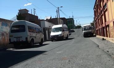 Arequipa: vecinos de Cayma se quedaron sin transporte público
