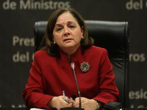 Rosario Fernández: No intervine en designación de Facundo Chinguel