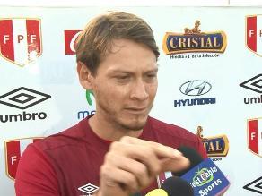 Sporting Cristal: Diego Penny bromeó con periodista al pedirle un cigarro