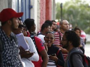 El desempleo en Brasil sube al 8,3 % en el segundo trimestre de 2015