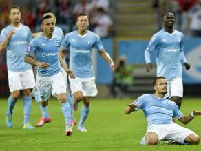 Yoshimar Yotún: Malmö avanzó a fase de grupos de Champions League