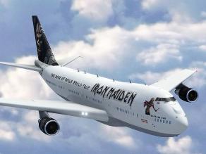 Iron Maiden anuncia gira mundial y presenta nuevo avión