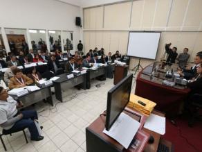 Narcoindultos: testigo dice que conmutados hicieron labor social en APRA