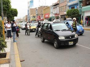 Chiclayo: el CGT capturó a más de 100 vehículos con deuda por infracciones