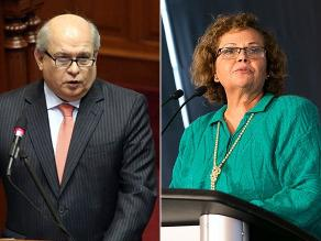 Ministros Cateriano y Ortiz acudirán este jueves al Congreso por Lote 192