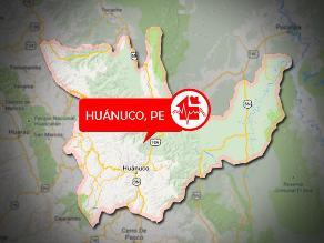 Sismo de 3.2 grados de magnitud se registró en Huánuco