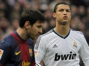 Cristiano Ronaldo 'golea' a Lionel Messi en internet