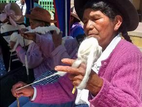 Huancayo: atractivo concurso de 'puchka' por el Día del Adulto Mayor