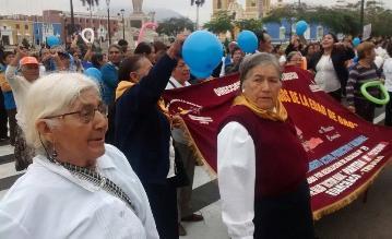 Trujillo: con pasacalle adulto mayor celebra su día