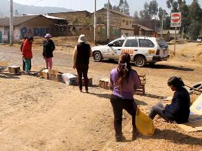 Huancayo: bloquean ruta alterna por alta contaminación en Chilca