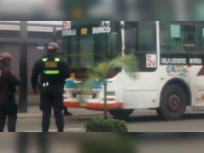 WhatsApp: fuga de gas en bus de transporte público causó pánico en Miraflores