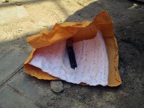 Huaura: extorsionadores dejan dinamita en casa de alcalde de Santa María